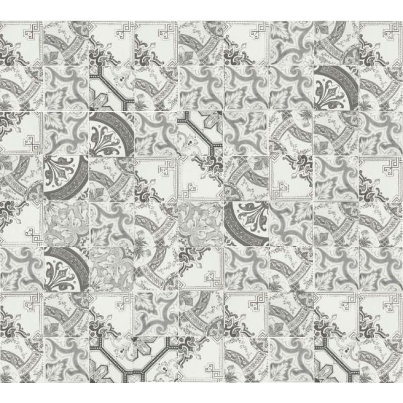 Nikea Sepia Grijs Mat Protugese mix Vloer-/Wandtegel 10,0X10,0 Cm