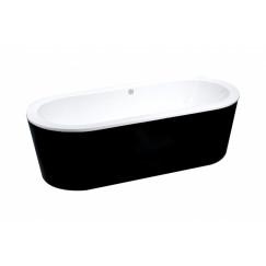 """Best-Design """"Black & White"""" vrijstaand bad 178x80x55cm"""