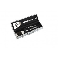 Accessoires lm rvs grillkoffer 3-delig