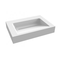 """Best-Design """"Indoor"""" wastafel """"Just-Solid"""" 60x46x13cm"""
