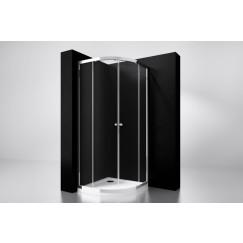 "Best-Design ""Project"" 1/4 ronde douchecabine 90x90x190cm glas 5mm"