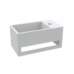 """Best-Design """"Mona-Rechts"""" fontein incl.handdoekhouder """"Just-Solid"""" 33x18x16cm"""