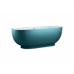 "Best-Design ""Color-Turquoise ""vrijstaand bad 179x81x61cm"