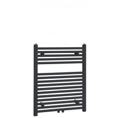 """Best-Design """"Zwart-ral 9011 Zero"""" radiator recht-model 770x600mm"""