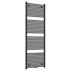 """Best-Design """"Zwart-ral 9011 Zero"""" radiator recht model 1800x600mm"""