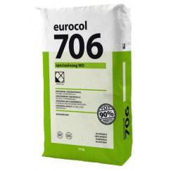 Eurocol voegproducten voegmaterialen x 23 kg voegzilv.grijs 706 eur