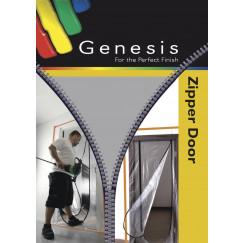 Genesis Foliedeur met rits