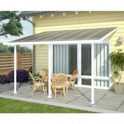Terrasoverkapping terrasoverkap,feria 3000 patio wit