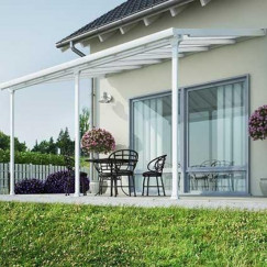 Terrasoverkapping terrasoverkap,feria 5400 patio wit