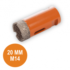 Fix Plus Tegelboor 20 mm. M14 FPTBM-M20