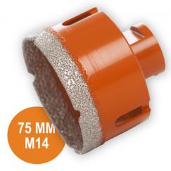 Fix Plus Tegelboor 75 mm. M14 FPTBM-M75
