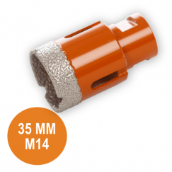Fix Plus Tegelboor 35 mm. M14 FPTBM-M35