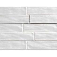 Wandtegels organic brick ice 7,5x30 rett