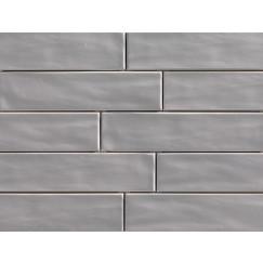Wandtegels organic brick smoke 7,5x30 rett