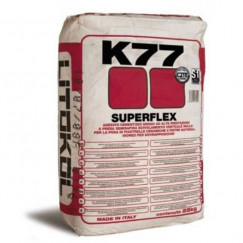 Tegellijmen k77 poederlijm flex grijs 20 kg