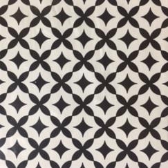 Vloertegels mod, stella bianco 22,5x22,5 p/st