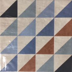 Vloertegels barroco blanco 001 22,5x22,5 p/st