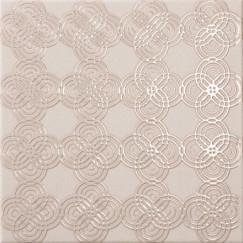 Wandtegels emuna cercle rose decor 22,5x22,5 20st per doos