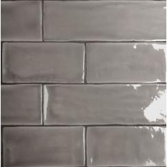 Wandtegels mayolica grey 7,5x15