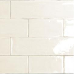 Wandtegels mayolica ivory 7,5x30