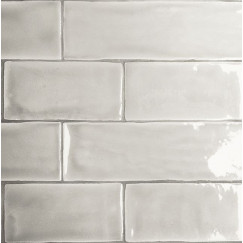 Wandtegels mayolica soft grey 7,5x30
