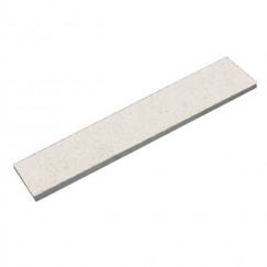 Sierplinten rodapie/skirting bera white abujardado 4,8x89,8