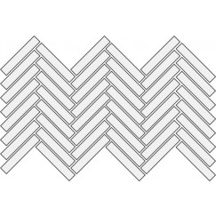 Vloertegels lightwood sand spike left 14,8x89,8 spike