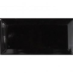 Wandtegels metro zwart 07,5x15,0