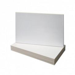 Wandtegels wit glans 25x50 cm