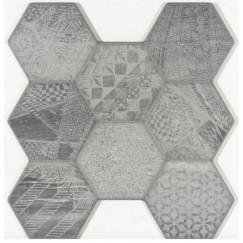 Vloertegels vesta mix grijs 45x45