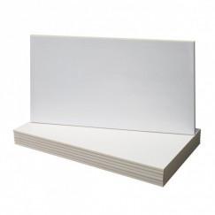 Wandtegels wit mat 25x50 cm