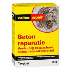 Reparatie weber beton reparatie 2 kg