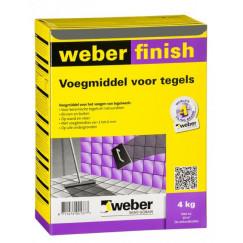 Voeg weber wd finish voeg protect antra 4 kg(n, vpk)