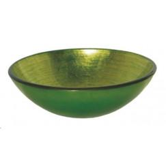 L'aqua Modello Waskom gehard glas verde/groen D42cm lavabo