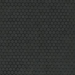 Mozaiek mos textures esagono nero 30x30cm