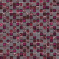 Mozaiek mos 15mm glitter viola 30x30cm