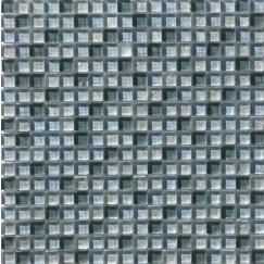 Mozaiek mos 15mm glitter grigio 30x30cm