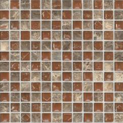 Wandtegels petra 03 bruin 30x30 (16st per doos)