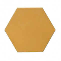Kashba Marrakesch cementtegel U7403 Geel Hexagon 17x17