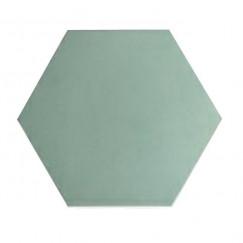 Cementtegels kashba u5527 lichtgroen hexagon 17x17