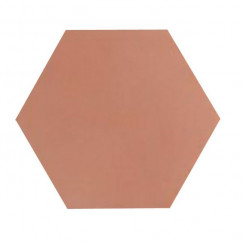 Kashba Marrakesch cementtegel U473 Zalm Roze Hexagon 17x17