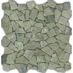 Mozaiek beachstone jade