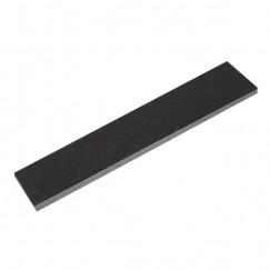 Alfa hardsteen zwart tegelplint 8.0x50.0cm, zwart
