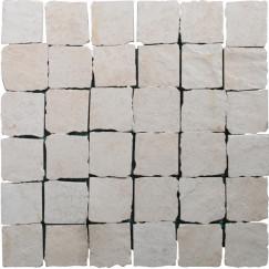 Priggo Mozaiek Pirineos Beige Pirineos Mos(3x6) 33.3x33.3