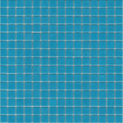 Mozaiek a32 lichtblauw 2x2cm
