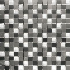 Mozaiek ac,018 grey mix 30,5x30,5