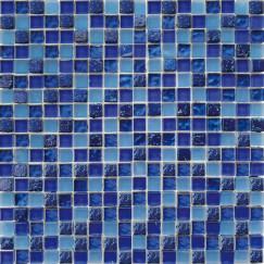 Mozaiek ft,002 blue mix 29,5x29,5