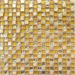 Mozaiek ft,007 gold mix 29,5x29,5