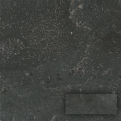 Progetto Limestone black 10x20x1cm, antraciet