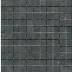 Progetto Limestone mozaiek black 30.5x35.5cm, antraciet